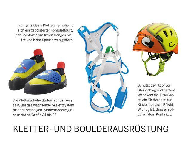 KL Kletter-Ausrüstung für Kinder
