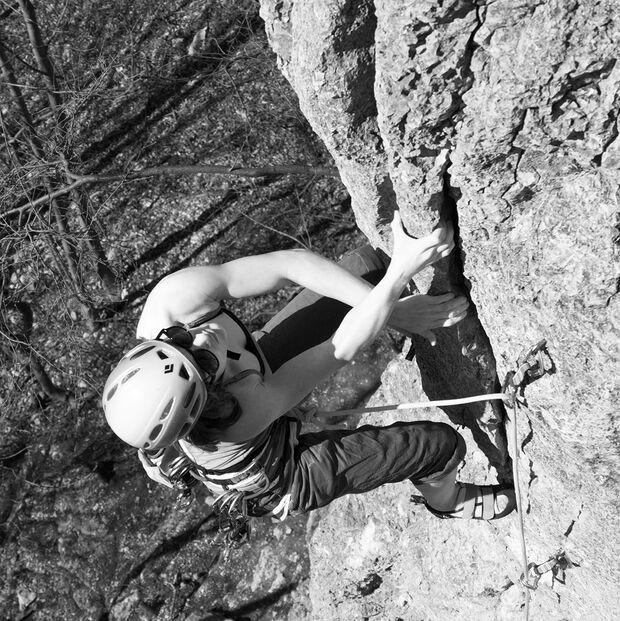 KL Klettern Schwäbische Alb Sarah