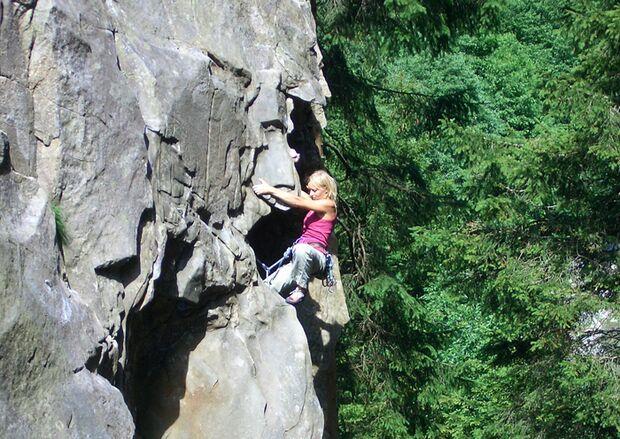 KL Klettern im Zillertal