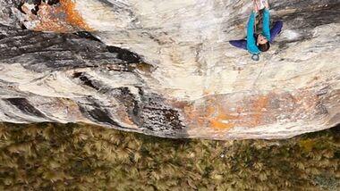 KL Klettern in Equador Paige Claassen Lead now Tour Marmot