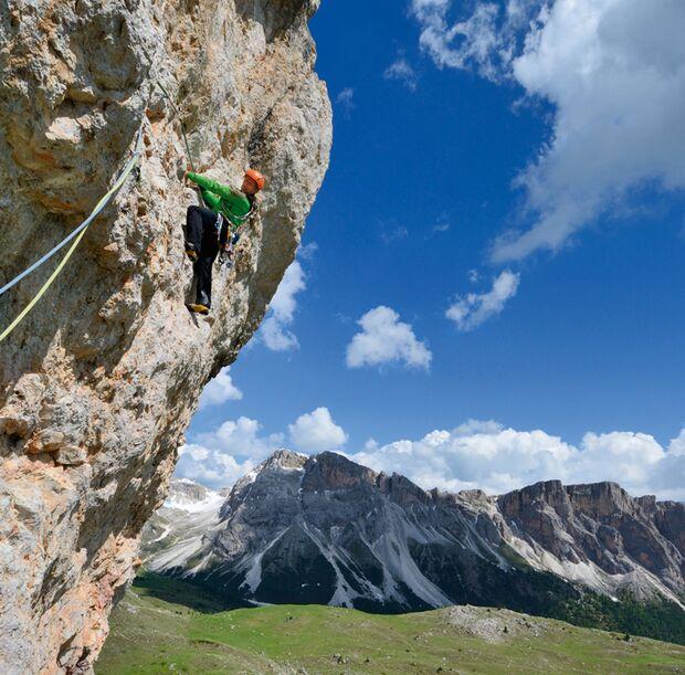 KL Klettern in Südtirol Groeden