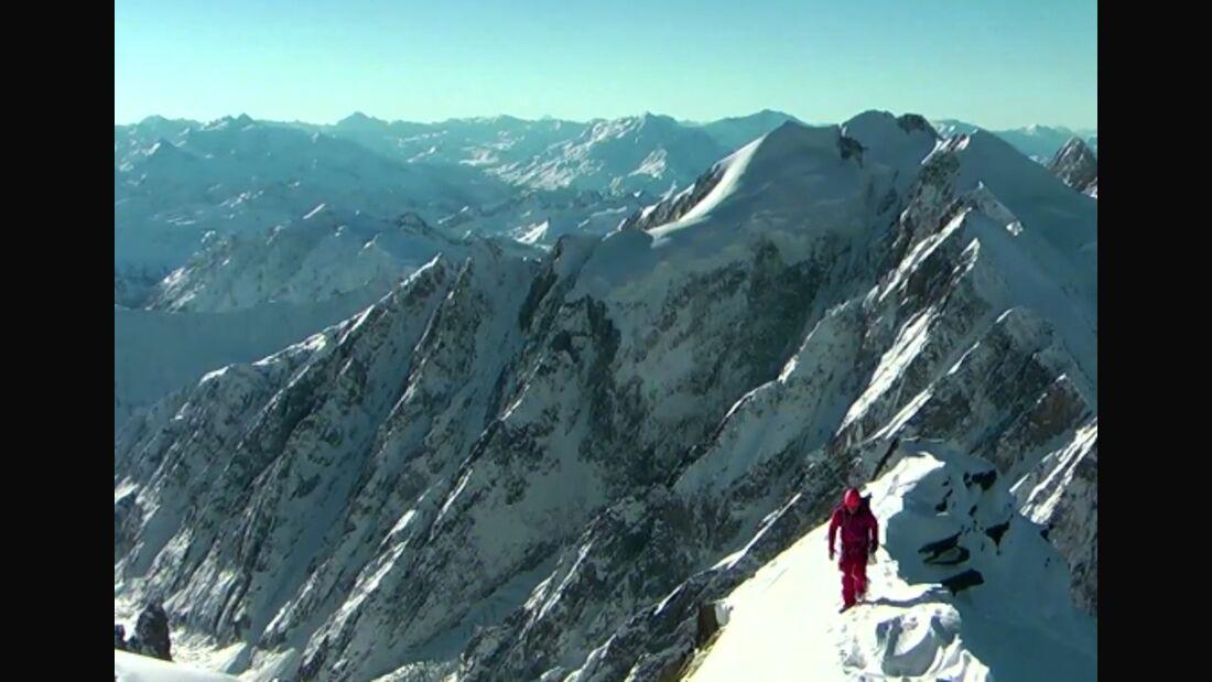 KL Lionel Daudet umrundet Frankreich - letzte Etappe Mont Blanc TEaserbild normal only
