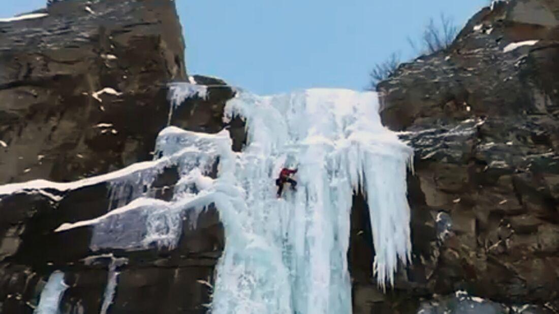 KL Matthias Scherer Eisklettern Val di Cogne Italien