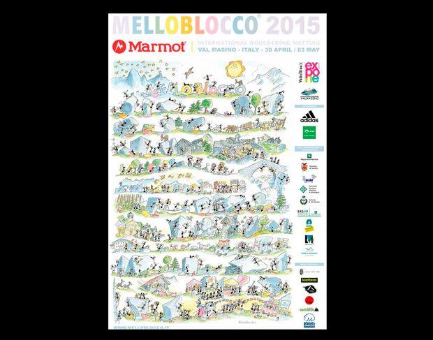 KL Melloblocco Poster 2015
