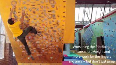 KL Moon Board training tips Ned Feehally James Blay Wild Country systemwand