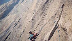KL Nina Caprez klettert El Nino am El Capitan, Yosemite USA