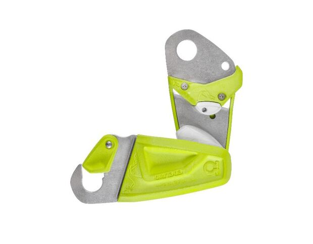 KL Ohm von Edelrid: Gerät fürs Sichern bei großem Gewichtsunterschied