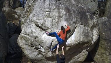 KL Out of Sight Trailer II Bouldern Fontainebleau Neil Hart Teaser Caro Sinno