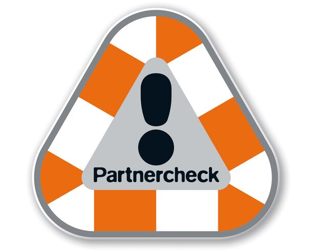KL Partnercheck - Schild vom DAV