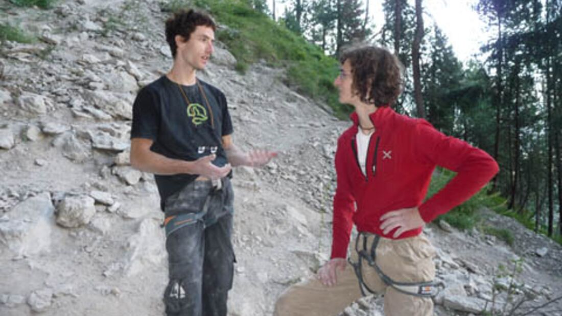 KL Patxi Usobiaga & Adam Ondra in Nassereith