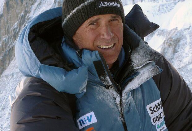 KL Ralf Dujmovits am Lhotse