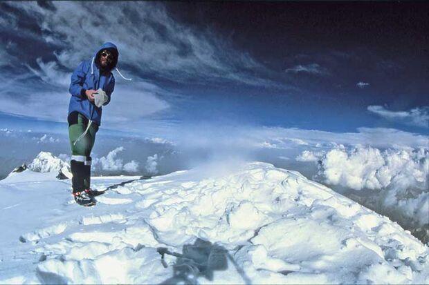 KL Reinhold Messner am Gipfel des Nanga Parbat 1978