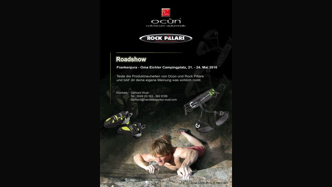 KL Roadshow Rock Pillars & Ocun Frankenjura