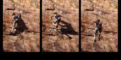 KL Runterfallen beim Klettern - Sportklettersturz im Kronthal - Sarah