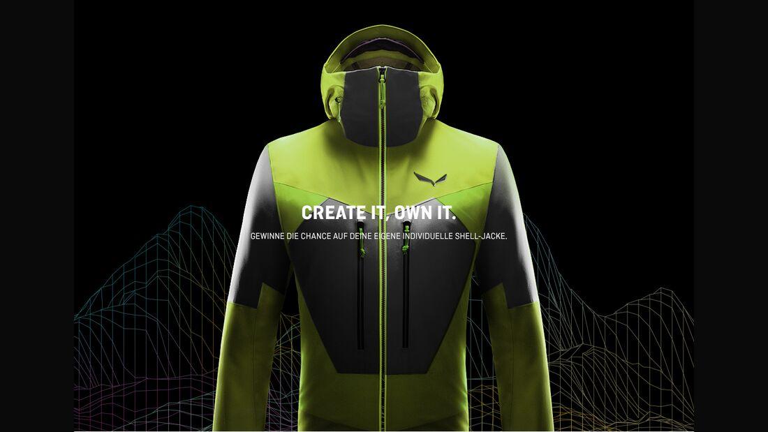 KL Salewa Create your own Jacket