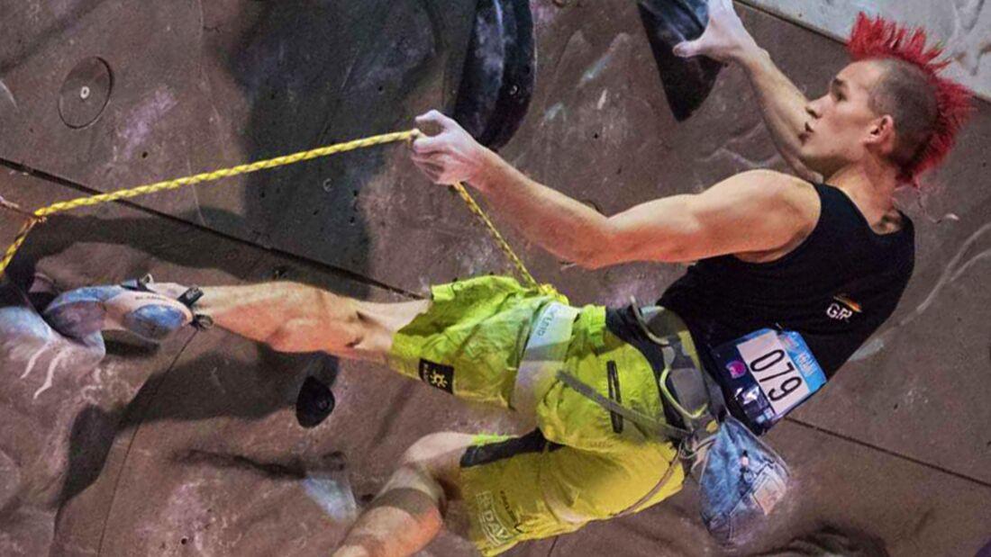 KL Sebastian Halenke gewinnt LEad-Weltcup in Kranj 2016