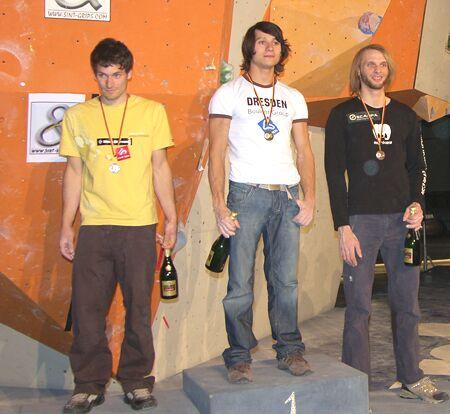 KL Siegerehrung Herren Bouldercup Pforzheim