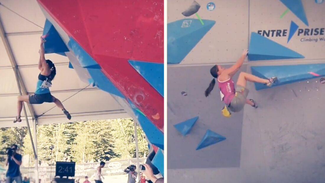 KL Teaserbild Video-Report Boulder-Weltcups Toronto & Vail Udo Neumann