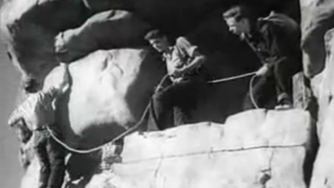 KL Three on a Rope history lesson rock climbing 1938 TEASER