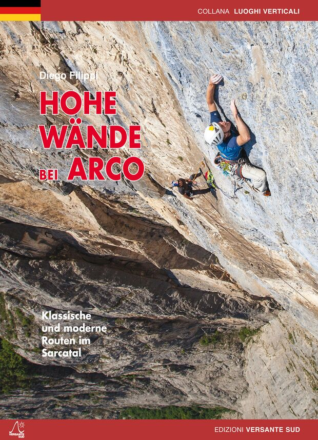 KL Topo Sarcatal Versante Sud 'Arco: Hohe Wände' Cover