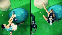 KL Video Weltmeisterschaft Bouldern - The Art of Anna
