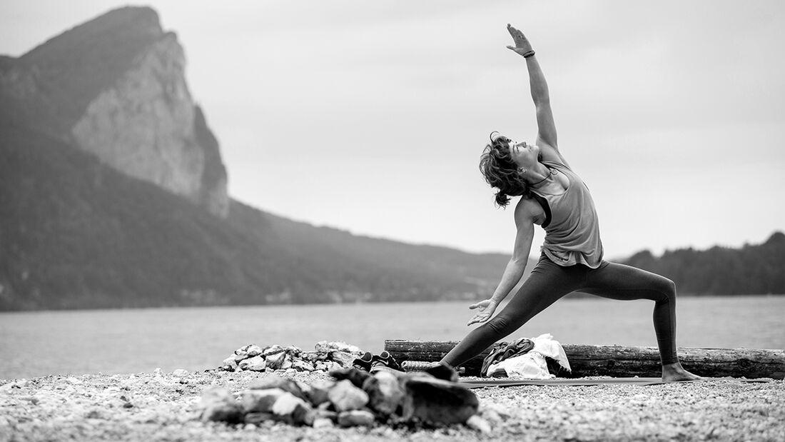 KL Yoga Mondsee Drachenwand Sarah