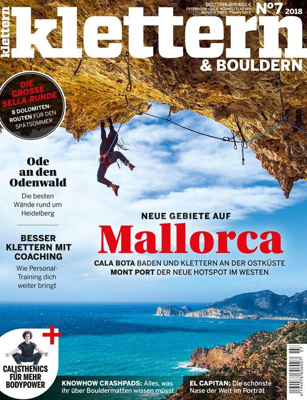 KL klettern 7-2018 Titel Cover