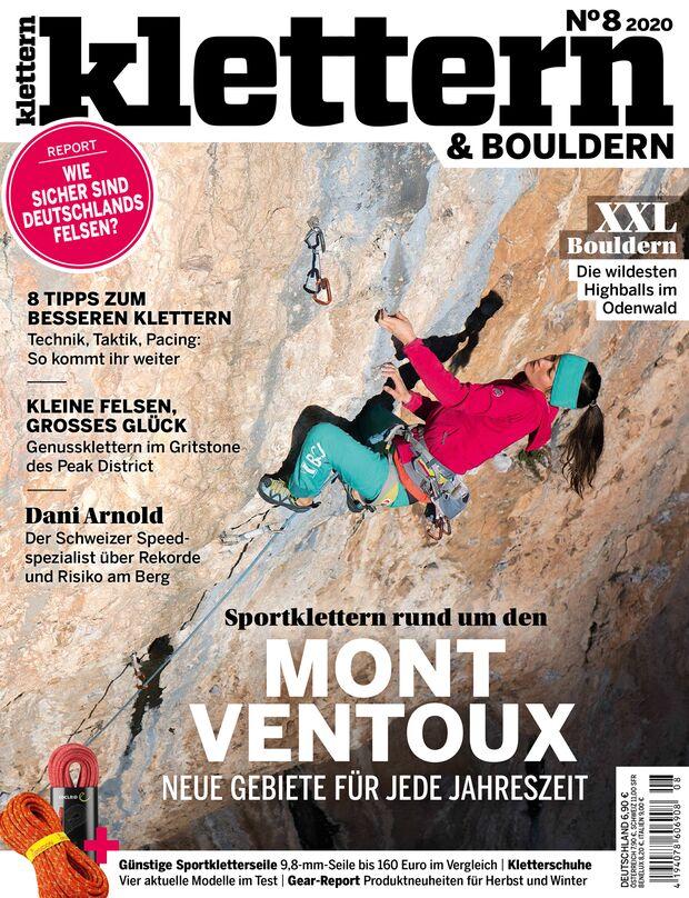 KLETTERN Magazin Ausgabe 8-2020