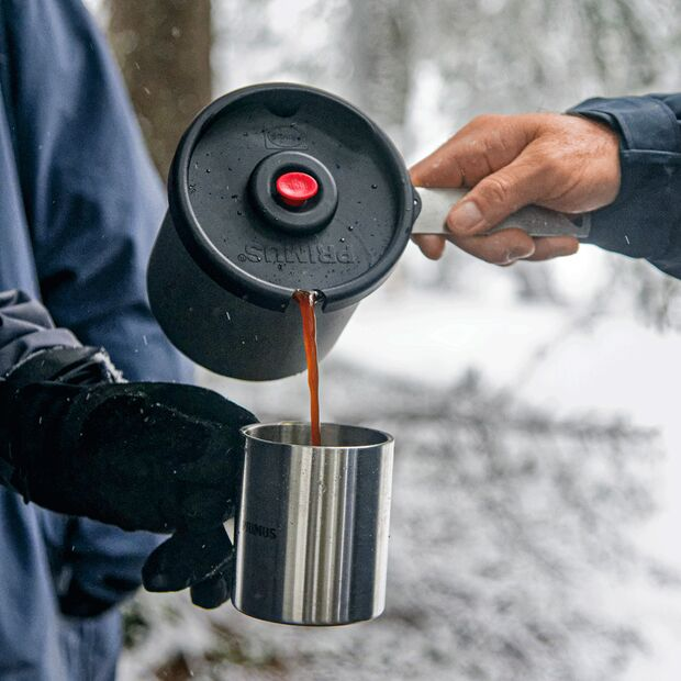 Kaffeekochen mit dem Primus Firestick