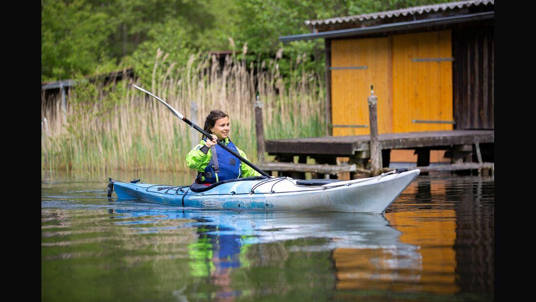 Kanutouren auf der Mecklenburgischen Seenplatte