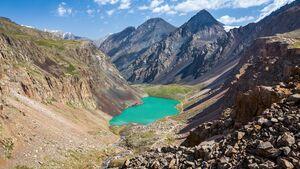 Kirgisistan - Tian-Schan-Berge
