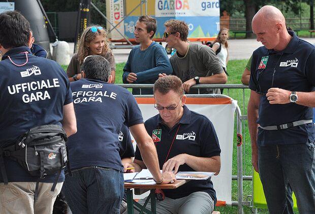 Kletter-Wettkampf: Rock Master Arco am Gardasee (Bilder International Open Lead) 11