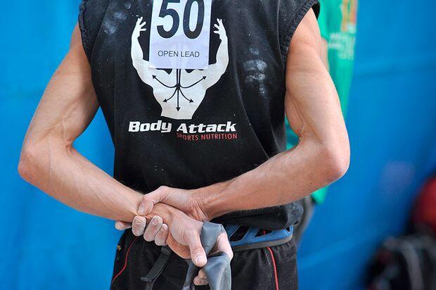 Kletter-Wettkampf: Rock Master Arco am Gardasee (Bilder International Open Lead) 16