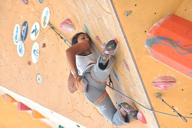Kletter-Wettkampf: Rock Master Arco am Gardasee (Bilder International Open Lead) 17