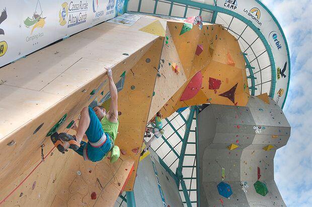Kletter-Wettkampf: Rock Master Arco am Gardasee (Bilder International Open Lead) 22