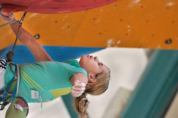 Kletter-Wettkampf: Rock Master Arco am Gardasee (Bilder International Open Lead) 24