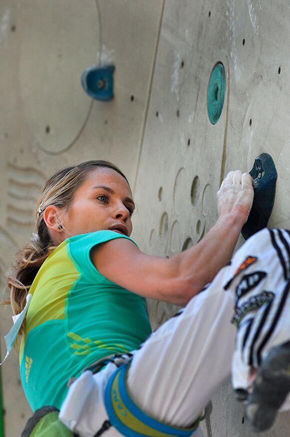 Kletter-Wettkampf: Rock Master Arco am Gardasee (Bilder International Open Lead) 25