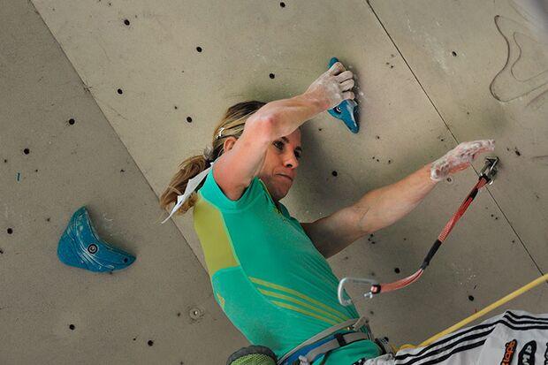 Kletter-Wettkampf: Rock Master Arco am Gardasee (Bilder International Open Lead) 27