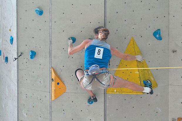 Kletter-Wettkampf: Rock Master Arco am Gardasee (Bilder International Open Lead) 3