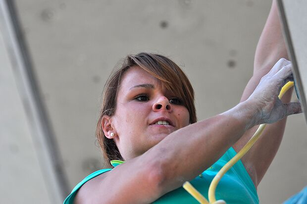 Kletter-Wettkampf: Rock Master Arco am Gardasee (Bilder International Open Lead) 39