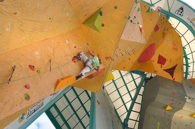 Kletter-Wettkampf: Rock Master Arco am Gardasee (Bilder International Open Lead) 4