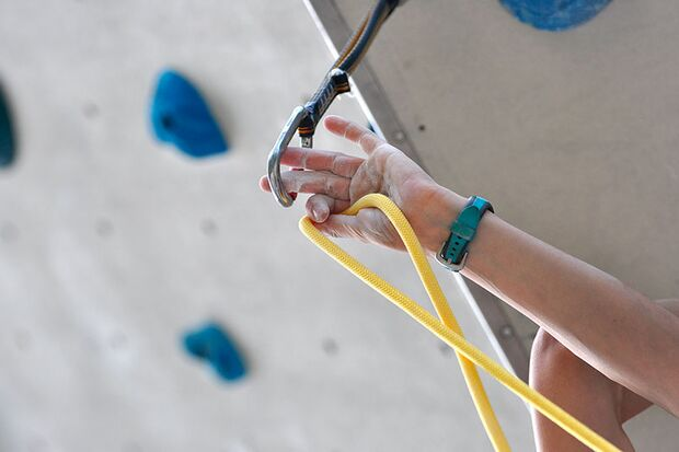 Kletter-Wettkampf: Rock Master Arco am Gardasee (Bilder International Open Lead) 40