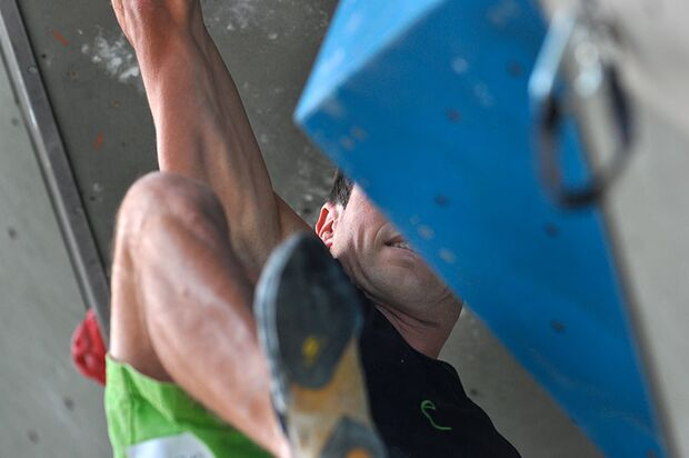 Kletter-Wettkampf: Rock Master Arco am Gardasee (Bilder International Open Lead) 41