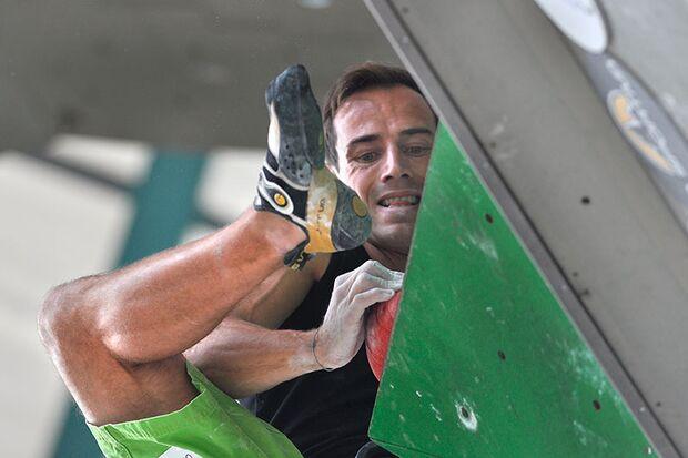 Kletter-Wettkampf: Rock Master Arco am Gardasee (Bilder International Open Lead) 43