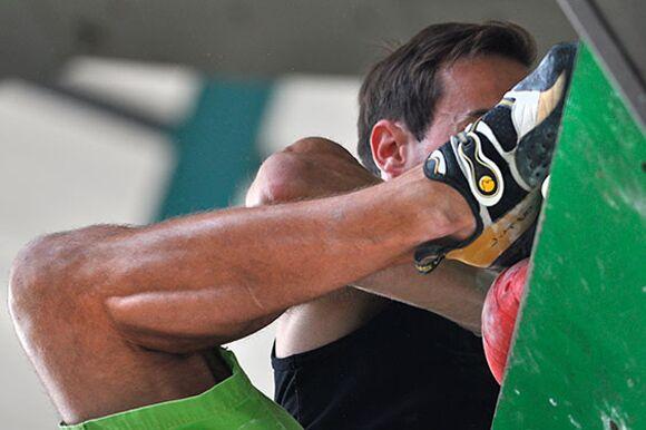 Kletter-Wettkampf: Rock Master Arco am Gardasee (Bilder International Open Lead) 44