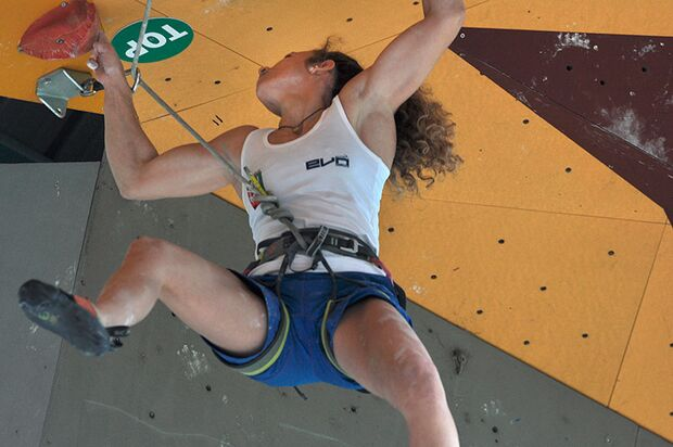 Kletter-Wettkampf: Rock Master Arco am Gardasee (Bilder International Open Lead) 48