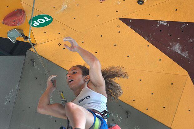 Kletter-Wettkampf: Rock Master Arco am Gardasee (Bilder International Open Lead) 49