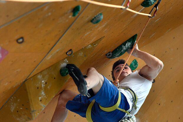Kletter-Wettkampf: Rock Master Arco am Gardasee (Bilder International Open Lead) 50
