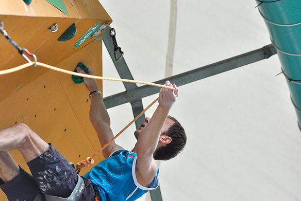 Kletter-Wettkampf: Rock Master Arco am Gardasee (Bilder International Open Lead) 54