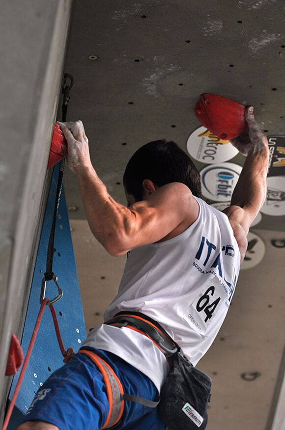 Kletter-Wettkampf: Rock Master Arco am Gardasee (Bilder International Open Lead) 57